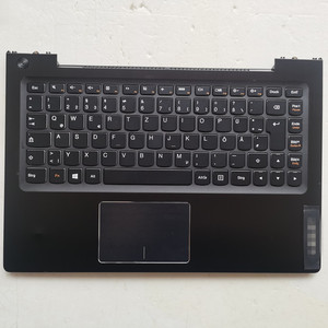Germany layout Backlit New laptop keyboard with touchpad palmrest for lenovo IdeaPad U330 U330T U330P