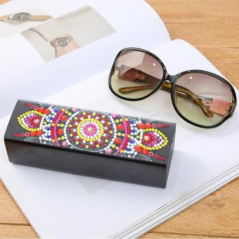 Diamond Sunglasses with Holder