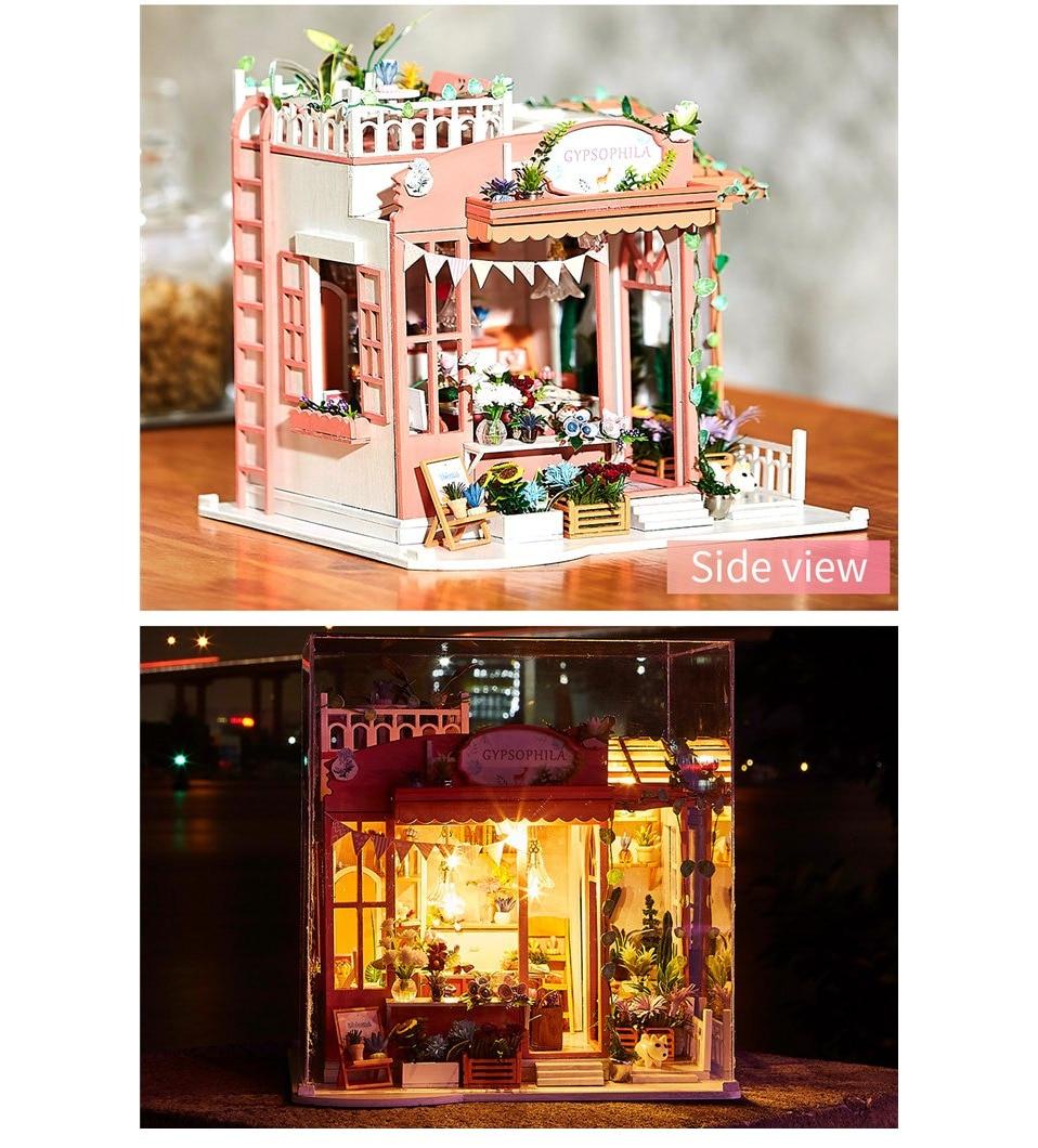 H0b84b19362474c538edef391f8073333i - Robotime - DIY Models, DIY Miniature Houses, 3d Wooden Puzzle