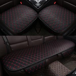 Image 1 - Housse universelle en cuir pour siège de voiture, housse de siège avant et arrière, couvre siège, tapis de protection, accessoire dintérieur