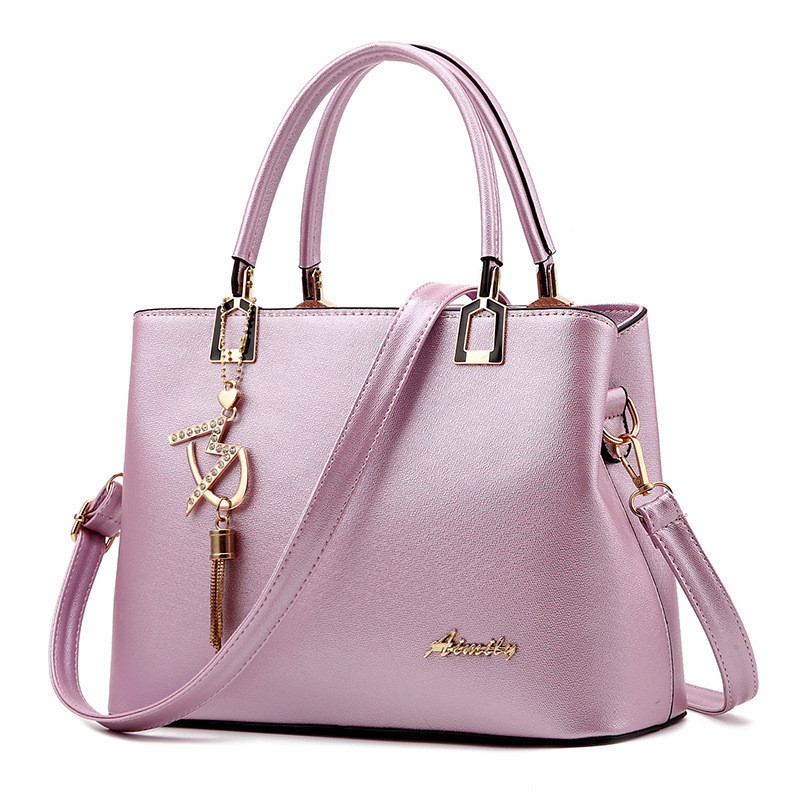 Women Bag Shoulder Handbag Women Vintage Messenger Bags Fashion Luxury Top-Handle Composite Bag Purse Wallet Leather 6