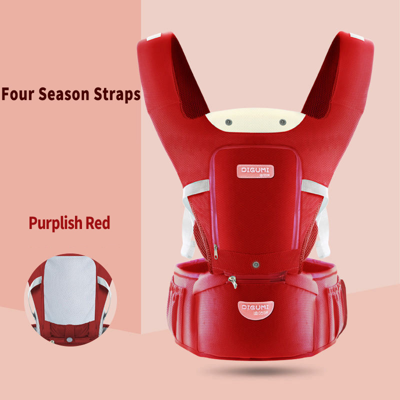 Baby Carrier Waist Stool Walkers Kids Sling Hold Belt Backpack Infant  Kids Hip Seat Ergonomic Carrier Backpack For Newborn