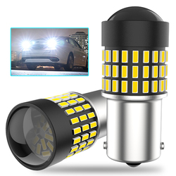 LED Car Reverse Brake Light Parking Bulb 1156 BA15S P21W 7443 For Hyundai Solaris Accent I30 Elantra ix35 Santa Fe Sonata Tucson