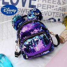 Disney Mickey Mouse Backpack Kids Minnie bag for School children kindergarten backpack boy girl Sequins single room book
