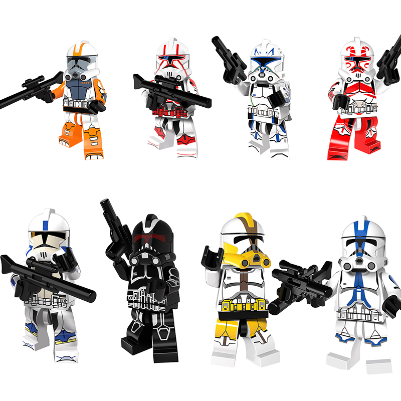 Small Building Block PG8078 Star Wars Imperial Stormtrooper Building Block Construction Toys Blocks Childrens Game For Kids Gift