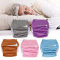 Erwachsene Windeln Wasserdichte Waschbar Reusable Erwachsene Ältere Tuch Windeln Verstellbare Tasche Windeln für Bettlägerige Inkontinenz