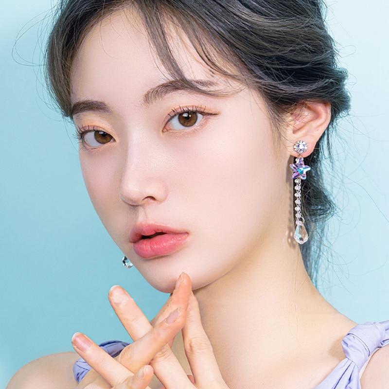 Купить mengjiqiao 2020 в корейском стиле модные фиолетовые основа star