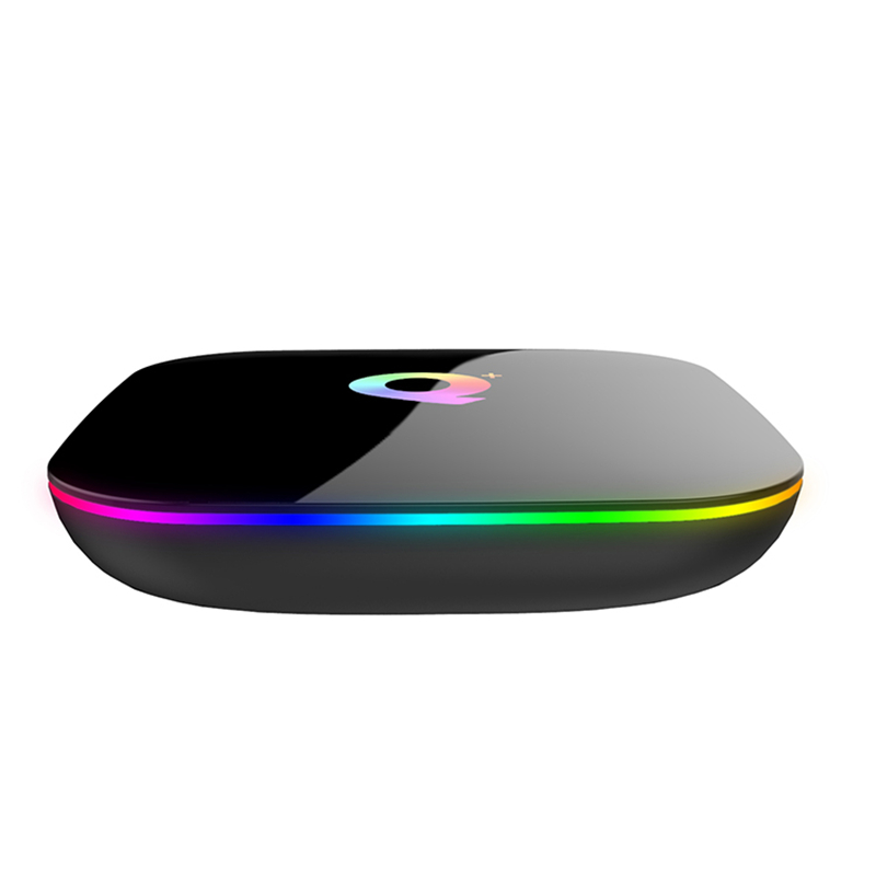 ILEPO Q Plus Android 9 0 Smart TV BOX Allwinner H6 Tv Box Android 9 0 Boxes Iptv Subscription Unblock Tv Box Iptv M3u HDMI 2 0 in Set top Boxes from Consumer Electronics