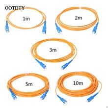 Cabo de remendo da extensão do único modo do cabo de ligação em ponte da fibra ótica do sc/UPC-SC/UPC-SM 3mm