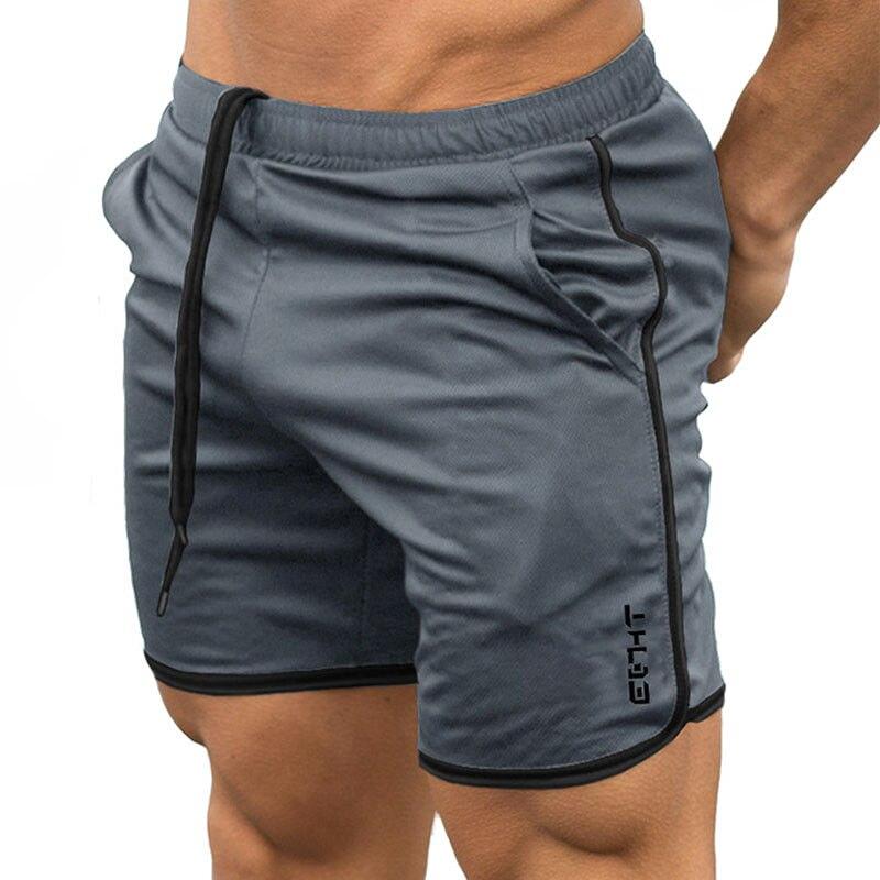 2020 Summer Running Shorts Men Sports Jogging Fitness Shorts Quick Dry Mens Gym Men Shorts Sport Gyms Short Pants Men 7