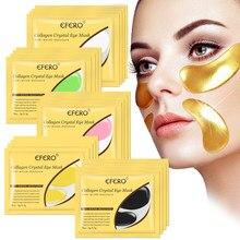 Parches de colágeno para el cuidado de los ojos, Gel antiarrugas, antiedad, ojeras, belleza acné, TSLM2