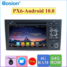 Car DVD Gps For Audi A4 B6 B7 S4 RS4 SEAT Exeo 2 din radio headunit Multimedia Player Autoradio Android 10.0 4gb+64gb HDMI Port
