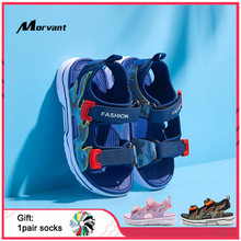 Kids Sandals Fashion Comfortable Children's Sandals Soft Space Leather Boys Girls