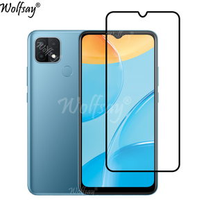 Image 2 - Full Cover Whole Glue Tempered Glass For Oppo A15 Screen Protector For Oppo A15 Camera Glass For Oppo A15 A 15 Glass 6.52 inch