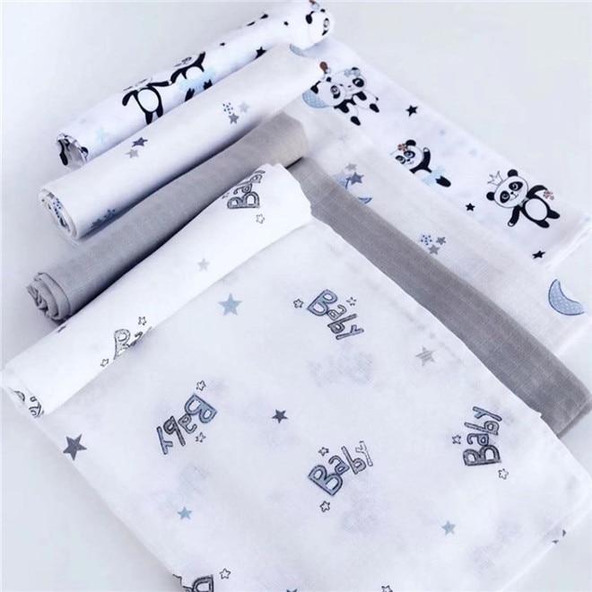 120cm*110cm Swaddling Blankets Baby Swaddling Blanket Muslin Cotton Muslin Blanket Muslin Bezi