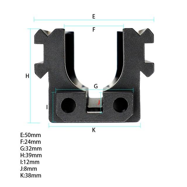 Système tactique darme AK garde-main raillé Rail de Picatinny Standard inférieur pour les fusils AK AEG Airsoft GBB