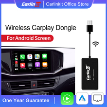 Carlinkit-llave electrónica inalámbrica CarPlay para reproductor de navegador, Android, Apple Carplay, Mirrorlink, IOS, 13 mapas de música