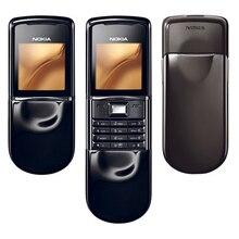 NOKIA 8800 Sirocco мобильный телефон GSM разблокированный 128MB 8800se 8800D телефон Восстановленный Русская клавиатура