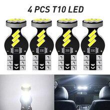 4X T10 W5W 194 Canbus LED Car Interior Dome Reading Light for Hyundai Solaris Creta ix35 Santa Fe Tucson Elantra i30 Getz Accent