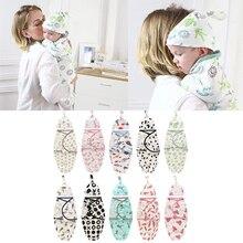Baby Swaddle Envelope Blanket Sack-Bedding Cocoon-Wrap Sleep Newborn Cotton Cap
