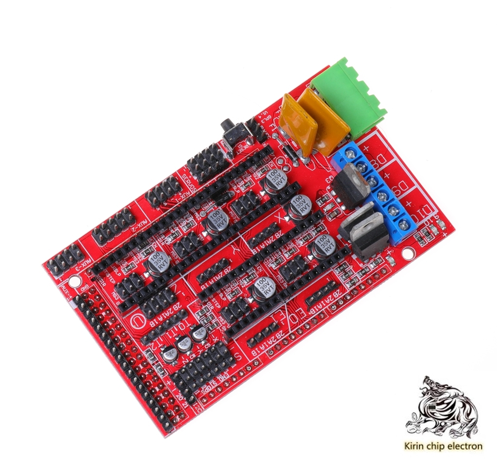 2PCS/LOT 3D Printer Reprap Ramps 1.4 1.5 1.6 Control Board Extension Board MendelPrusa
