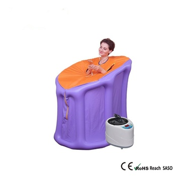 Home Steam Sauna Room 4.2L 2000W EU Plug Inflatable Tent Steamer Family Relaxing Sauna Sweat And Detoxing Sauna Box