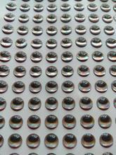 3mm 4mm 5mm 6mm 7mm 8mm 9mm 10mm 12mm oval deu forma aos olhos holográficos da isca da prata 3d da pupila com mosca dos crankbaits da sobrancelha que amarra jigs