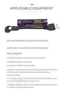 Image 3 - 10 sztuk akumulator do laptopa USB 18650 3500mAh 3.7V akumulator litowo jonowy USB 5000ML akumulator litowo jonowy + przewód USB
