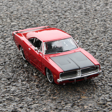 Maisto 1:24 1969 Dodge Challenger R/T Alloy car model die-casting model car simulation car decoration collection gift toy