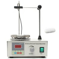 85 2 heizplatte Mischer Magnetische Rührer Mit Heizung Platte Digital Display Schule Labor Ausrüstung US EU UK AU Stecker-in Mixer aus Haushaltsgeräte bei