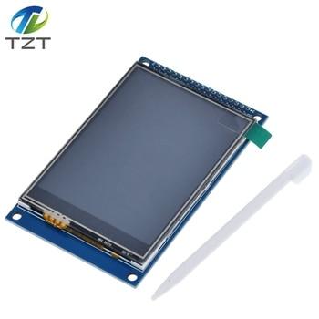 TZT 3.2 inch TFT LCD Touch Screen Module Display Ultra HD 320X240 ILI9341 for Arduino 3.2'' 320240 240x320 240320 2560 diy
