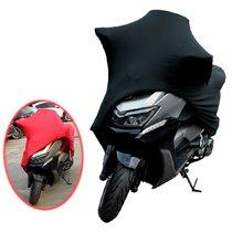 Universel 2 couleurs M -4XL moto couvre UV protecteur couverture moteur Scooter vélo anti-poussière couverture intérieur extérieur élastique tissu