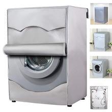 Чехол для стиральной машины из полиэфирного волокна, водонепроницаемый чехол для стиральной машины с фронтальной нагрузкой, Солнцезащитны...