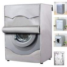 Housse de Machine à laver en fibre de Polyester, imperméable, pour sécher le linge, protection solaire, revêtement argenté, anti-poussière