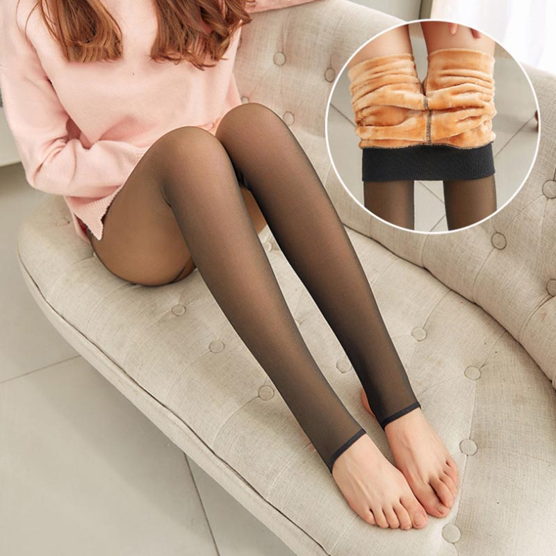 2019 Leggings Women Thick Legins Through The Meat Warm Pants Women's Leggings Warm Mesh Leggins For Womens Winter Clothes