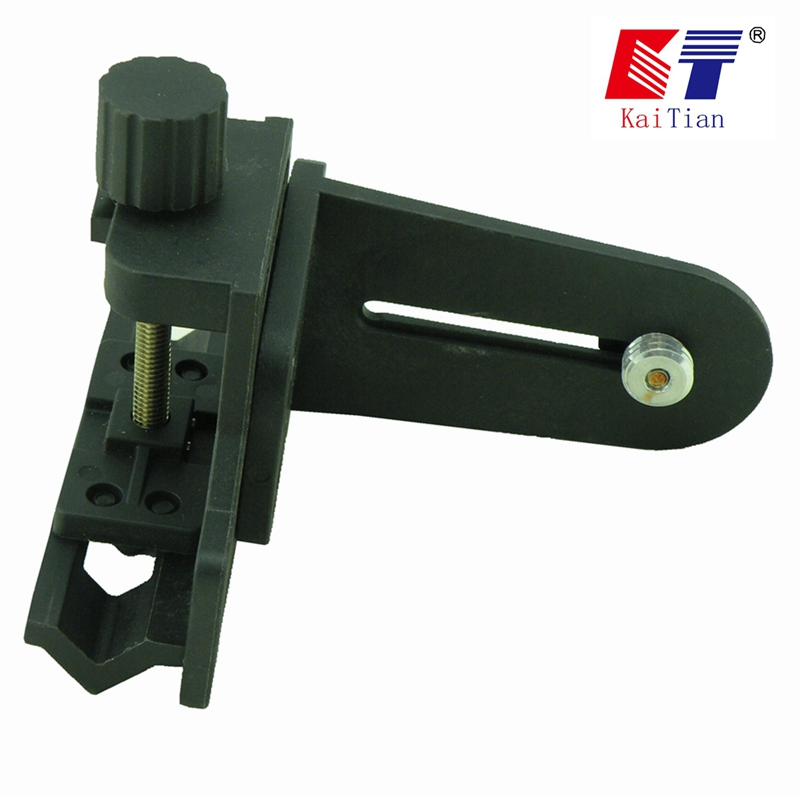 KaiTian Laser Ebenen Halterung 1/4 oder 5/8 zoll für Verlängerung Stange und Einstellbare Höhe 5 Linien Vertikale Horizont Nivel Laser werkzeuge