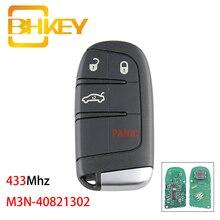 BHKEY M3N-40821302 Car Remote Key For Dodge Charger Dart Journey Challenger Durango Chrysler 300 Smart Car Key 433Mhz