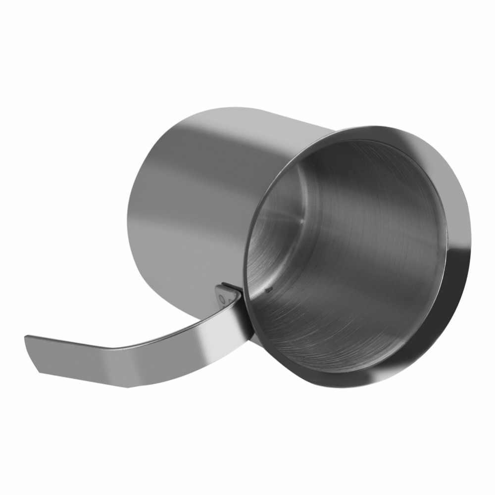 400/800ML spieniacz do mleka ze stali nierdzewnej mikser do kawy spieniacz do mleka Cappuccino Latte podwójna siatka delikatna pianka na akcesoria do kawy