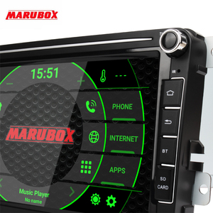 Image 2 - MARUBOX Car Multimedia player Android 10 GPS 2 Din Car Radio Audio Auto For VW/Volkswagen/POLO/PASSAT/Golf 8 Cores 4G 64G KD8101