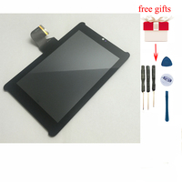 for Asus Fonepad 7 ME372 ME372CG Full LCD Display Panel Screen Monitor + Touch Screen Digitizer Glass Panel Screen Assembly display panel touch screen digitizer touch screen -