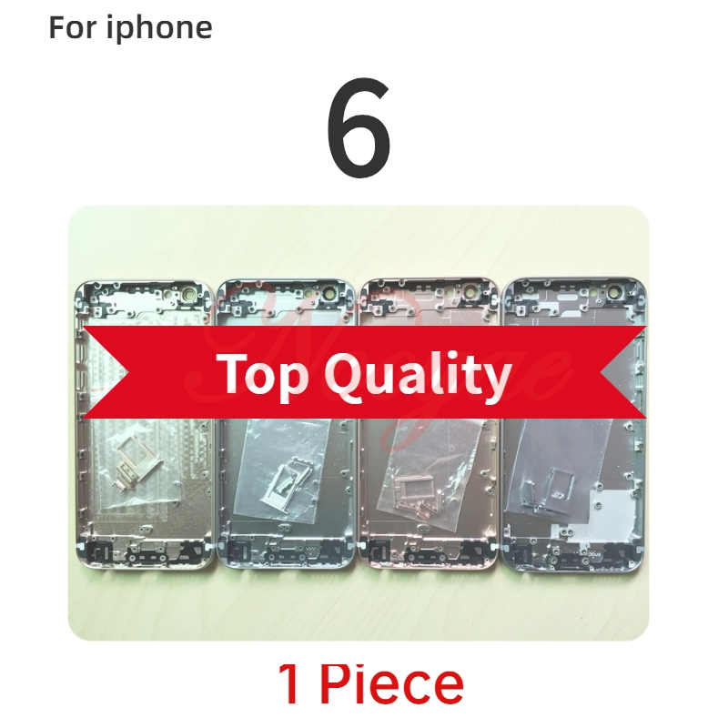 Full chassis For iphone 5C 6 6g 6 6S plus housing Rear Back battery door cover Case +tracking |Mobile Phone Housings & Frames| |  - title=