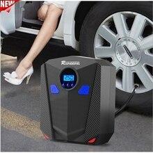 Air-Pump for Car Motorcycle Led-Light Inflator Tire Digital Portable 12V