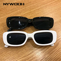 NYWOOH 2020 Модные Винтажные Солнцезащитные очки женские брендовые дизайнерские ретро солнцезащитные очки прямоугольные Солнцезащитные очки женские очки с линзами UV400 - фото