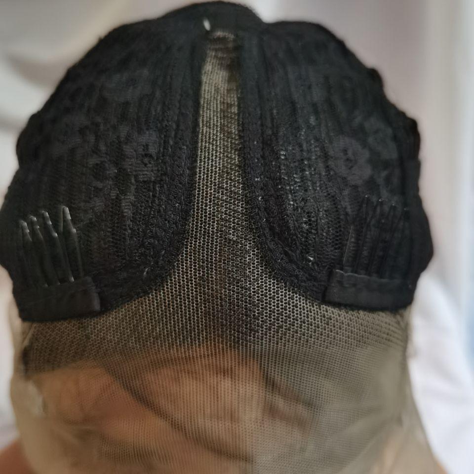 resistente ao calor do cabelo preto suq 05