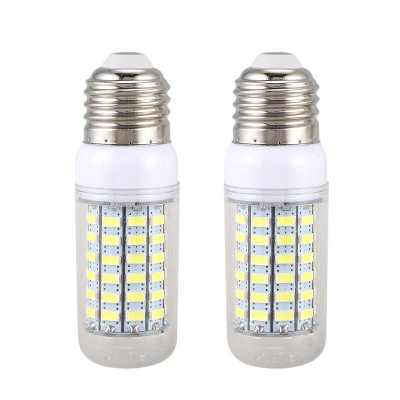 Promotion! 2 Pcs Energy Saving Lamp E27 220V 69 SMD 5730 1500LM 6000-6500K LED Corn Lights