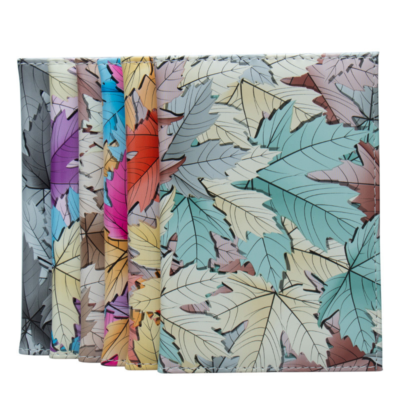 Zoukane Maple Leaves Passport Cover Case PU Leather ID Card Holder Travel Accessories Passport Wallet ZSPC36