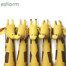 hot Nordic baby room wall decoration Cute animal head wall decoration for children kids room cotton plush Stuffed toys best gift