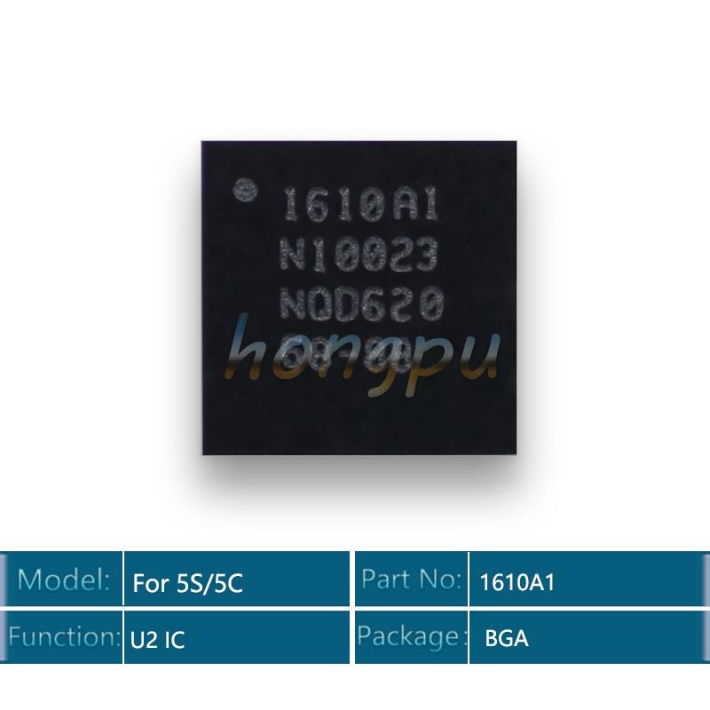 10 pcs/lot nouveau Original 1610A1 pour iphone 5S 5C TRISTAR USB chargeur de charge IC puce 36Pin U2 1610 1610A 1610A1