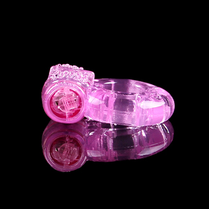 Image 4 - HoozGee Vibrating Cock Ring Sexual Health Products Male Extended Ejaculation Time Butterfly Penis Ring Sex Toys 100Pcs/Lot