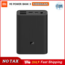 Xiaomi Mijia – Power Bank 3 Ultra Compact, 10000mah, 22.5w, chargeur rapide Portable usb-c bidirectionnel